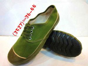 China Army Green Colour Sneaker - China
