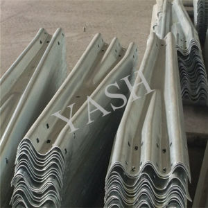 Two Wave Safety Highway PVC Coated Guardrail (YASH Series)