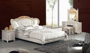 Leather Bed / Home Bed (WLNK-VT90590#)