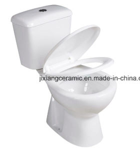 Cheap Ceramic Two-Piece S-Trap Toilet pictures & photos