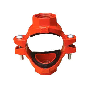 FM/Ce/UL Listed Ductile Iron Mechanical Pipe Cross pictures & photos