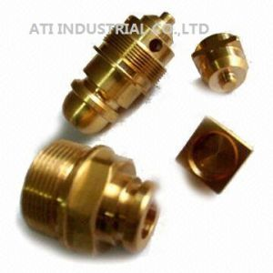 Copper CNC Machining Part pictures & photos