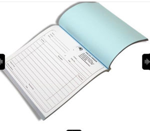 oem invoice book carbon paper receipt book printing with fast delivery time yy