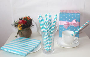 Fancy Paper Drinking Straw for Party pictures & photos