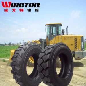 12-16.5 Long-Lasting Wear Industrial Tyres, Solid Skid Steer Tire pictures & photos