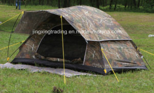 Polyester Waterproof Outdoor Camp Tent for 6 Persons (JX-CT021-3) pictures & photos