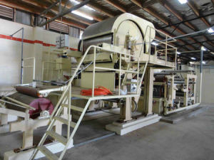 Wood Pulp, Waste Paper Pulp Making Toilet Paper Machine pictures & photos