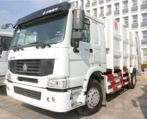 HOWO 20m3 Garbage Truck 6*4 (ZZ3257N3847A) China Mainland pictures & photos