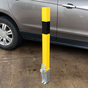 Metal Removable Bollard Rb12 Yellow pictures & photos
