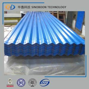 Colored Corrugated Steel New Wave Roofing Sheet pictures & photos