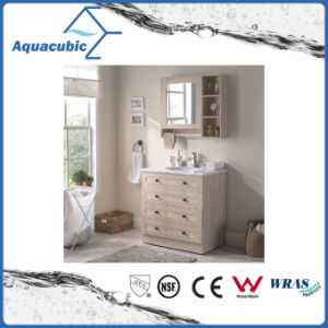 Plywood Vanity with Artificial Marble Top and Ceramic Basin (ACF8904) pictures & photos
