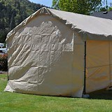 4oz-6oz Heavy Duty Tent Poly Tarp pictures & photos