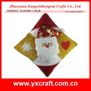 Christmas Decoration (ZY13F108-2) Snowman Home Decoration Throw Pillow Cover pictures & photos