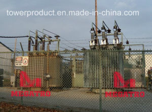Megatro 34.5kv Substation Steel Supports (MGS-STS345) pictures & photos