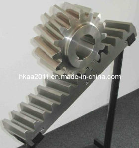 Precision Stainless Steel Helical Teeth Gear Rack and Pinion Gears pictures & photos