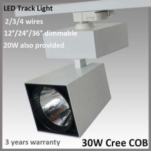 3/4 Phase 30W CREE LED Track Kit for Commerical Shop (BSTL107)