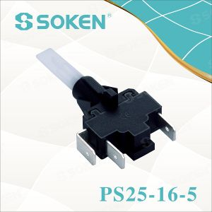 Soken Self-Locking Steamer Push Button Switch PS25-16-5 2pole pictures & photos