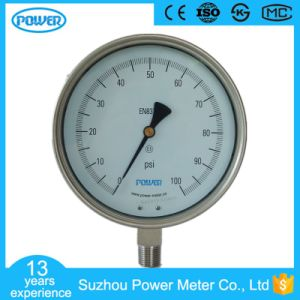 150mm Safety Type Precise Anti-Explosion All Stainless Steel Manometer pictures & photos