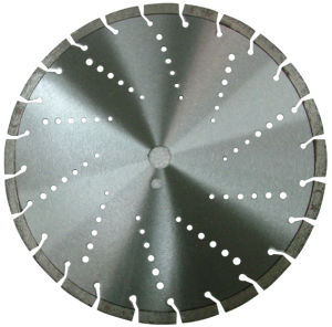 Laser Welding Diamond Circular Saw Blade for Asphalt Concrete Cutting pictures & photos