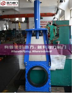 Heavy Duty Kgd Slurry Knife Gate Valve pictures & photos