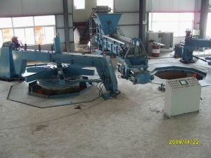 China Vertical Vibrating Casting Pipe Machine of Xz300-3600mm for