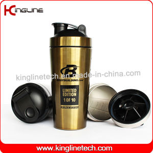 750ml New Stainless Steel Protein Shaker (KL-7068) pictures & photos