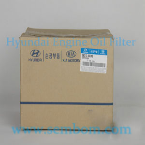 High Performance Engine Oil Filter for Hyundai Excavator/Loader/Bulldozer