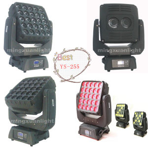 New 25PCS 4in1 LED Head Light RGBW Moving Zoom pictures & photos