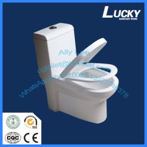 Siphonic One-Piece Toilet with Ce Saso SNI Certificate a-Grade Quality Promotion Design pictures & photos