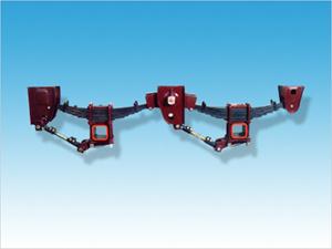 Steel Red 3-Axle Mechanical Suspension