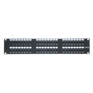 w//Wire Management and FREE SHIPPING! CAT5E 24 PORT PATCH PANEL RACK MOUNT