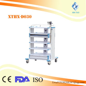 Factory Direct Price High Quality Medical Surgery Mayo Table Instrument Trolley pictures & photos