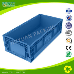 Foldable Plastic Crate for Home Use Auto Parts Industry etc