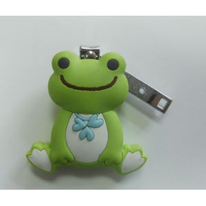 OEM New Cute Frog Finger Nail Scissor pictures & photos