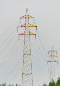 Power Distribution Steel Tower