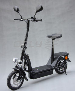 EEC Approved 350W/800W Brushless Scooter pictures & photos