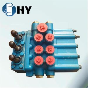 3 Spool Hydraulic Directional control valve Rexroth proportional valve