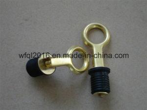 "1"" Marine Boat Brass Snap Type Drain Plug  Neoprene Plug"