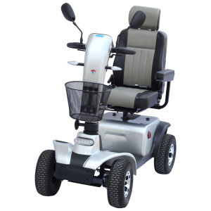 Four Wheels Heavy-Load Electric Mobility Scooter with Taiwan Motor (EML48A)