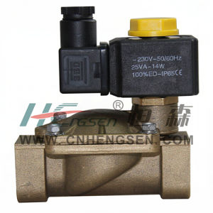 "M 2 3 H 4 0 Solenoid Valve 1-1/2"" B S P /Normally Closed Solenoid Valve/Servo-Assisted Diaphragm Solenoind Valve/Water, Air, Oil Solenoid Valve pictures & photos"