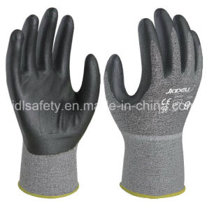 Cut Resistant Work Glove with Foam Nitrile Coating (K8085-18) pictures & photos