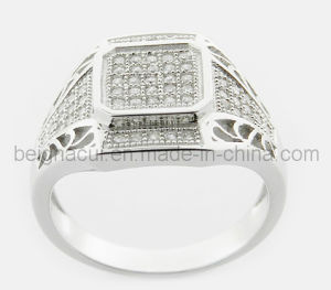 China New Model Wedding Ring China 925 Sterling Silver Cz Ring Cz