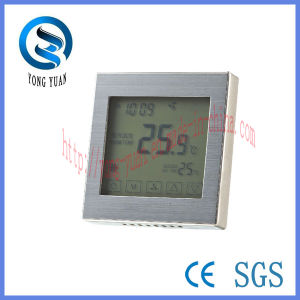 Touch Screen Metal Drawing Panel Room Thermostat (MT-04)