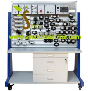 Electro Pneumatic Trainer Pneumatic Workbench Educational Equipment Vocational Training Equipment
