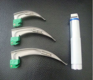 Single Use Conventional Bulb Laryngoscope Macintosh Style pictures & photos