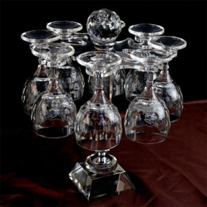 a Set of Crystal Wine Glass pictures & photos
