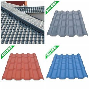 Hot Sale Clay Asa Coated Spanish Glazed Roof Tile pictures & photos