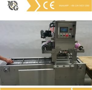 Linear Vacuum Gas Flushing Tray Sealer pictures & photos
