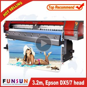 Funsunjet Fs-3202m Wide Format Outdoor Flex Banner Printer (3.2m seiko head, hot seller! ! !) pictures & photos