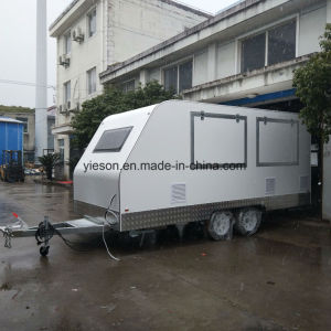 China Concession Kitchen Trailer Fast Food Caravan for Sale - China ...